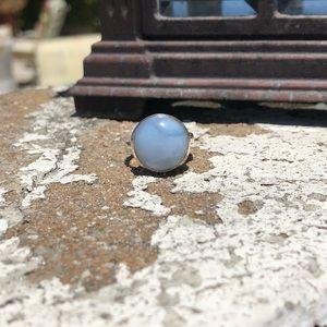 Jewelry - Owyhee Opal Sterling Silver Ring Sz 6.5